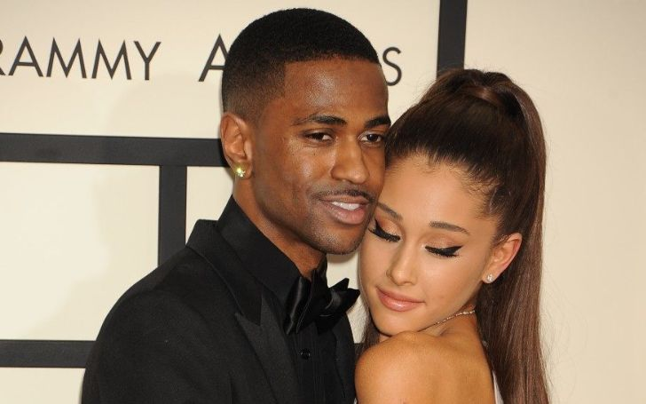 Ariana Grande and Ex-Big Sean Hang Out At Los Angeles Recording Studio