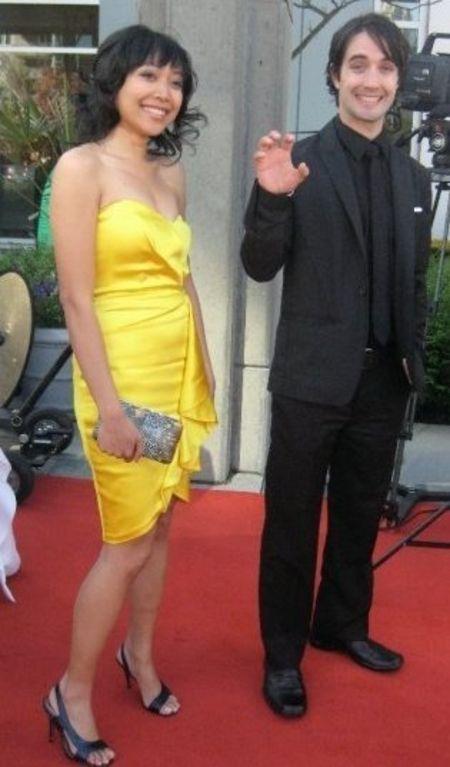 Producer Casey Manderson With Partner Cherlyn