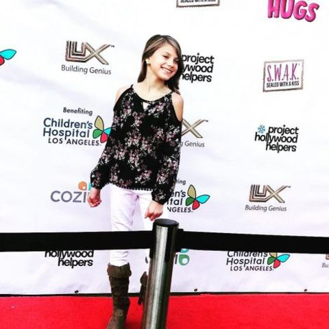 Abigail Pniowsky at the Project Hollywood Helpers Event