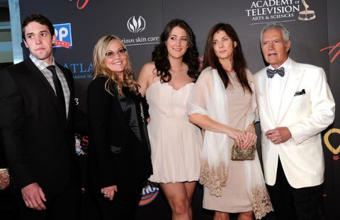 Alex Trebek and his Family.