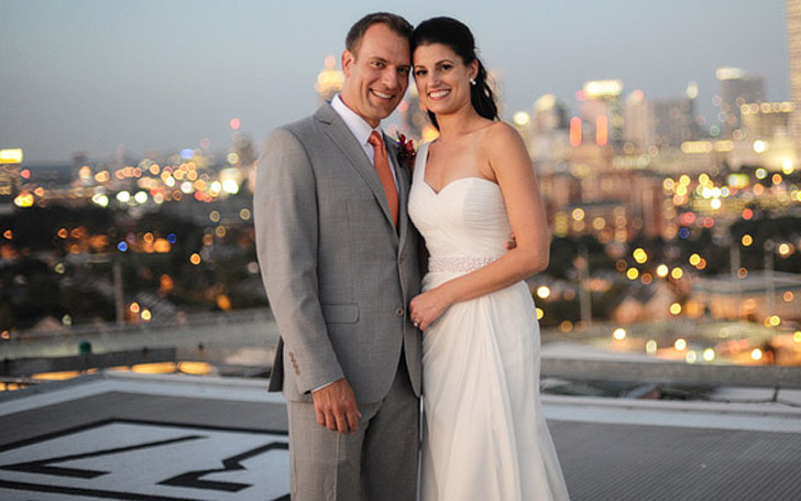 Allison Chinchar with her partner Mike Beetes