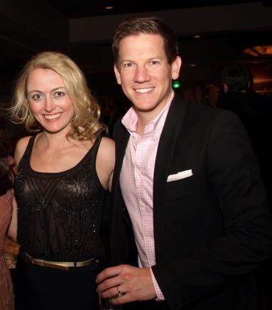 Amy Rutberg and Shane Rahmani