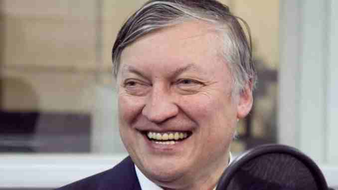 Anatoly Karpov married wife Irinia Kuimova