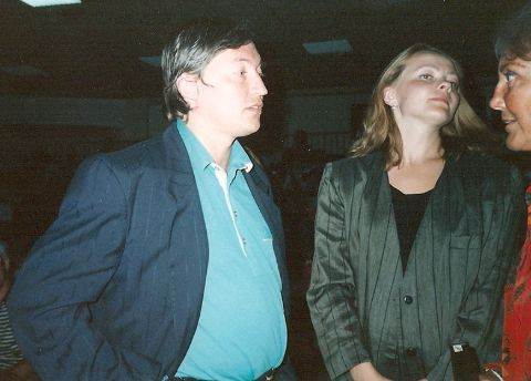 Anatoly Karpov and his wife.
