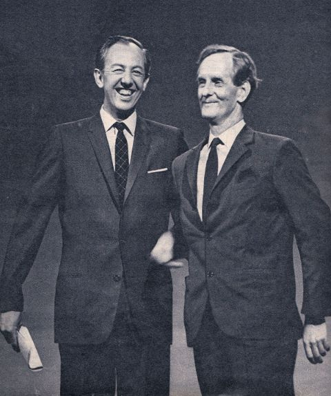 Bengt Feldreich and his friend from work