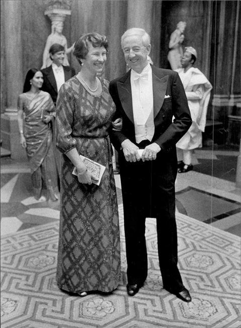 Bengt Feldreich and his wife Anna Lisa Feldreich