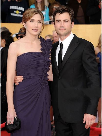 Matt long and his wifMatt long and his wife at the 17th Screen Actors Guild Awarde