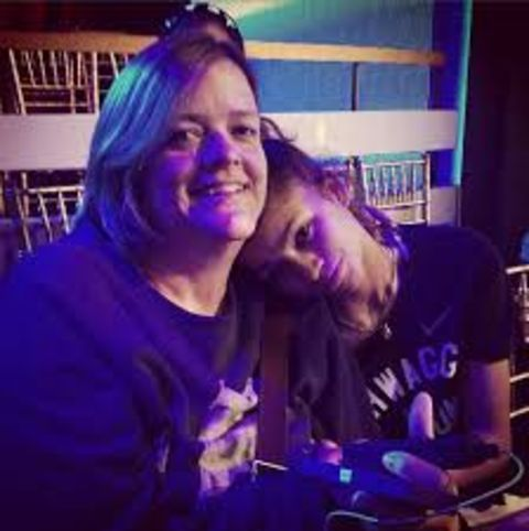 Claire Stoermer and her daughter together