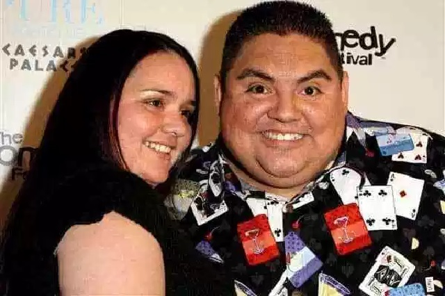 Claudia Valdez with her lover Gabriel Iglesias