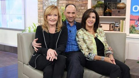 David Visentin and ladies