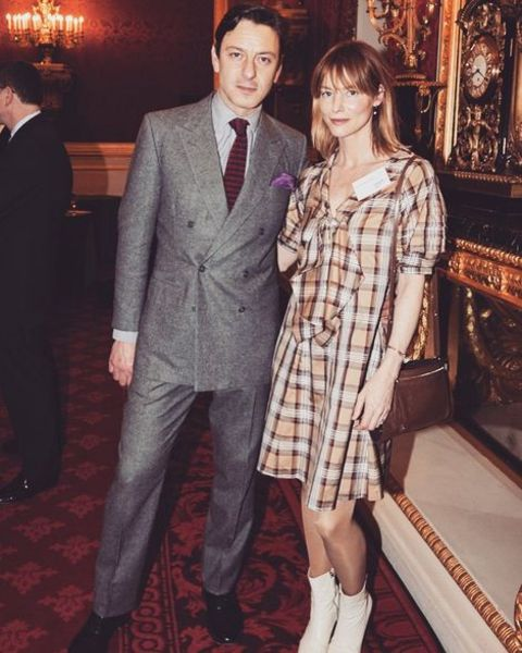 Enzo Cilenti with his wife Sienna Guillory