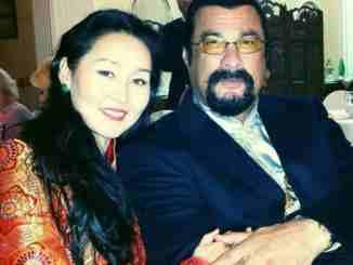 Erdenetuya Seagal married