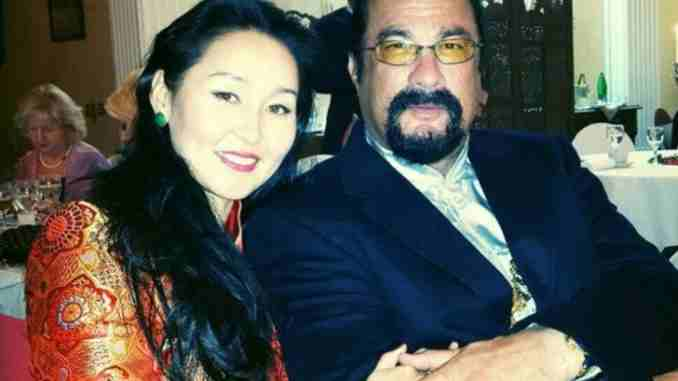 Erdenetuya Seagal married