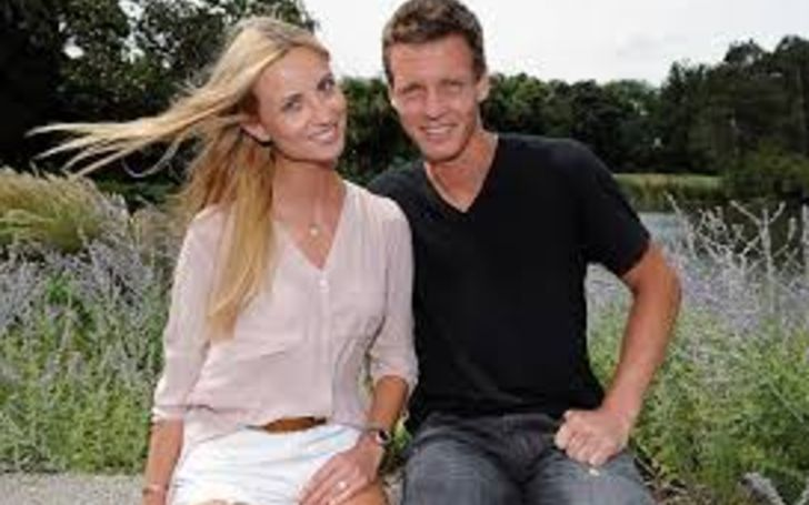 Ester Satorova and her husband Tomas Berdych married in 2015, they were engaged in 2014.