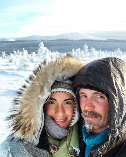JasperPääkkönen and Alexandra Escatout in the trip