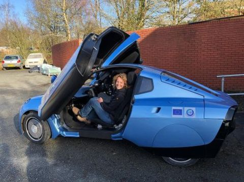 Kate Humble on the Top Gear show