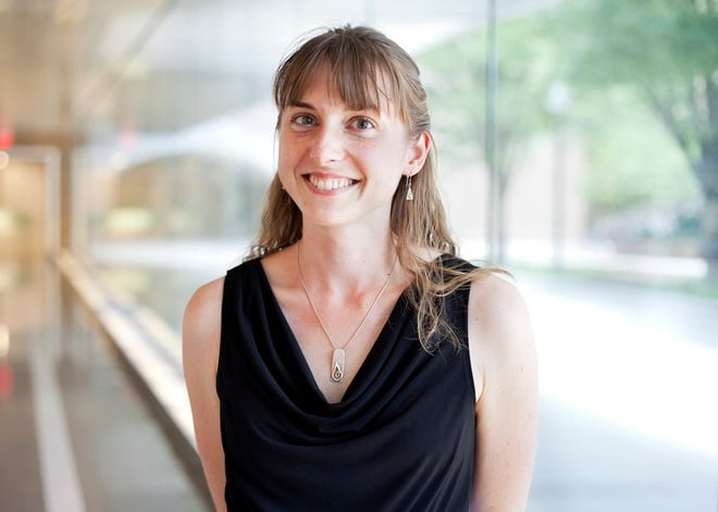Katherine McAlpine smiling