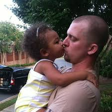 Kyle Chrisley with his kid