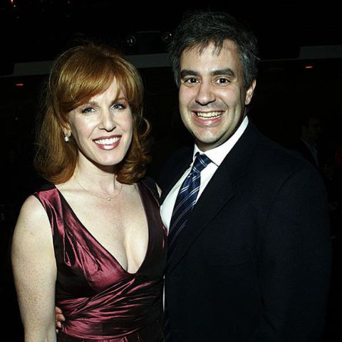 Liz Claman with her spouse Jeff Kepnes.