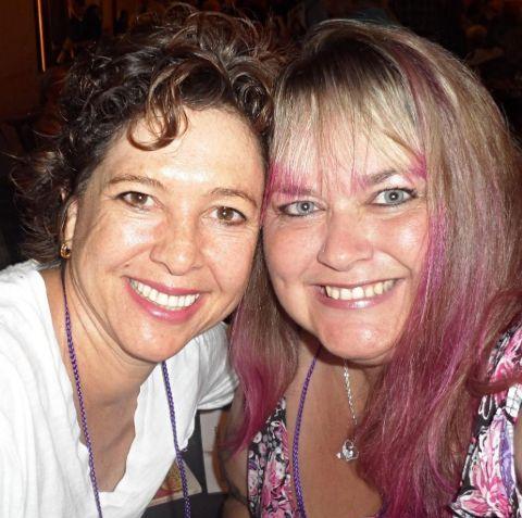 Martie Allen and Kristy McNichol.