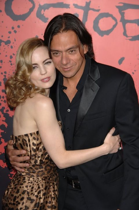 Claudio Dabed Claudio Dabed with his ex-wife Melissa George