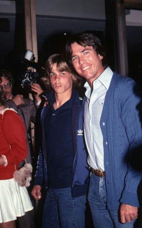Richard Hatch with his son Paul Hatch.