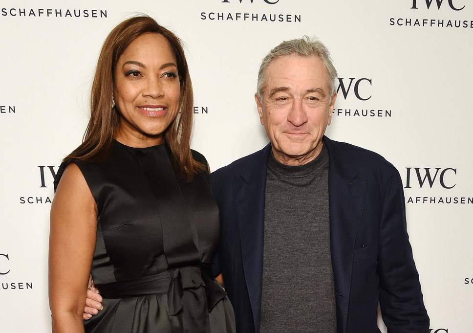 Robert De Niro And his spouse Grace Hightower