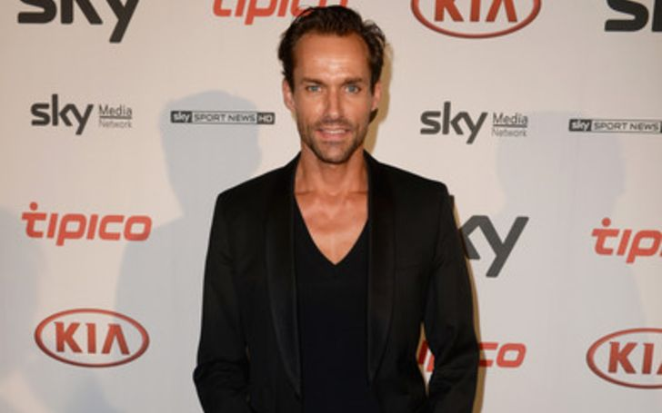 Sven Hannawald is married to his partner Melissa Hannawald and has a son with her Len Hannawald