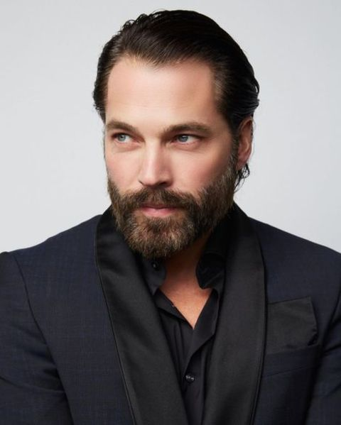 Tim Rozon posing for picture