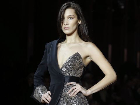 Bella Hadid had 101 fever when she closed the Redemption Fashion Show