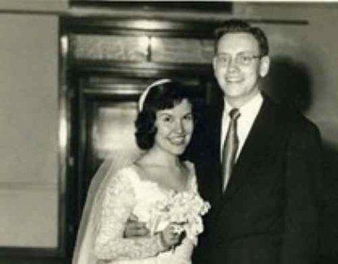 Warren Buffett with his first spouse Susan Buffett
