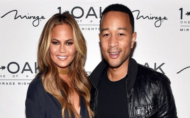 Chrissy Teigen mocks the photo photoshopping scandal