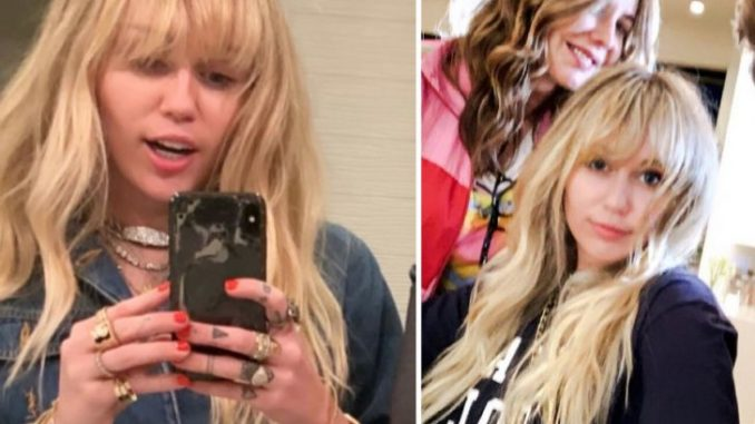 Miley Cyrus dyes her hair to look just like her breakthrough role Hannah Montana