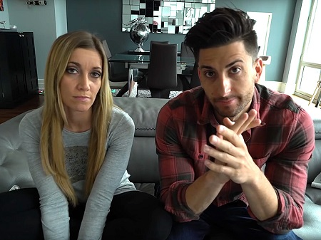 Jesse Wellens together with Jeana Smith talking about their split on their channel together