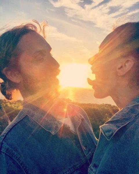 Josefin Asplund Instagram Post with a Guy