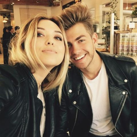Cameron Palatas with his Girlfriend