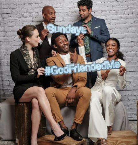 CBS drama God Friended me(2018-)