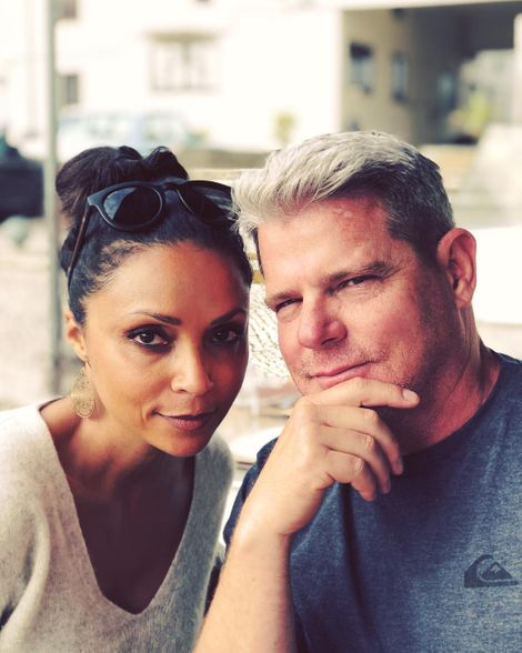 Danielle Nicolet with her spouse Mike Kussman