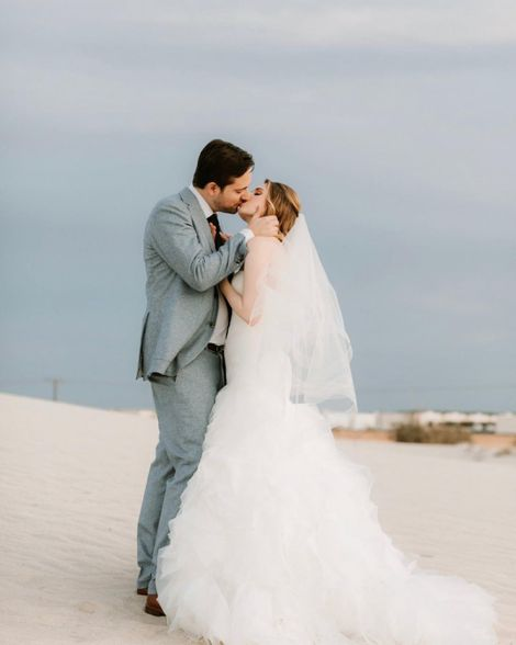 Kirsten Prout with her spouse Matt Zien PDA moment