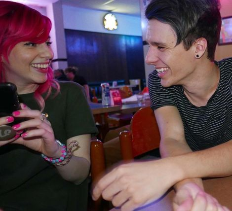 Carly Incontro with her lover Bruce Wiegner