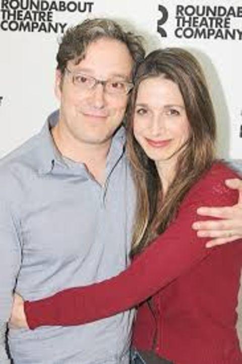 Mark Hinkle with her Life Partner Randall Sommer