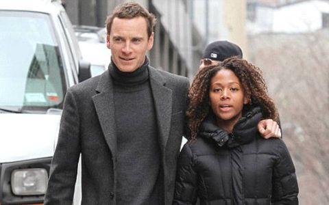 Nicole Behaire with her ex-boyfriend