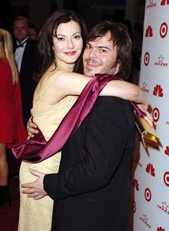 Laura Kightlinger with her ex-lover Jack Black