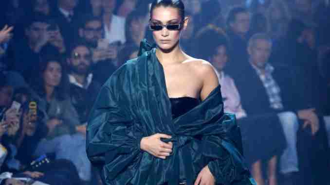 Bella Hadid's 101 Degree Fever Too Hot At Paris Fashion Week
