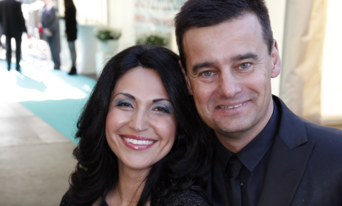 Wilfred Genee and wife