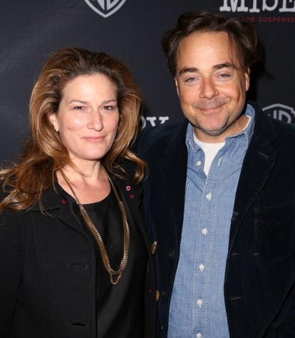 Ana Gasteyer with her spouse Charles E. McKittrick III
