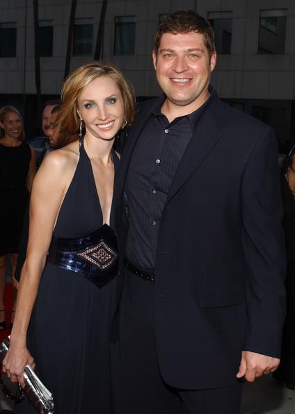 Henke with his ex-spouse Katelin Chesna Henke