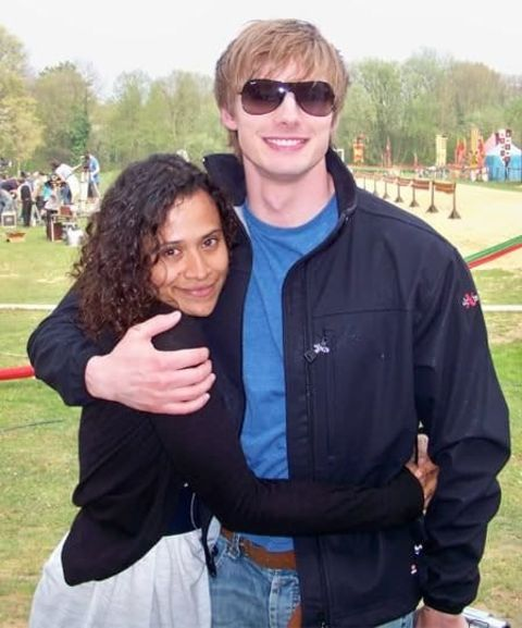 Angel Coulby isnot married