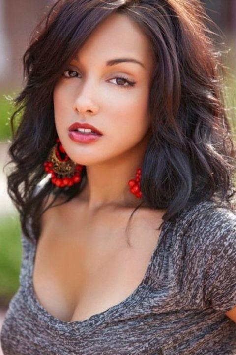 Brittney Alger is of Puerto Rican, Indian, Irish and Italian descent.