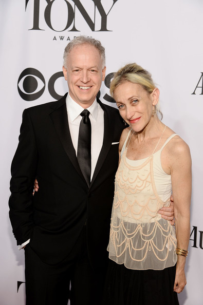 Constance Shulman with her spouse Reed Birney